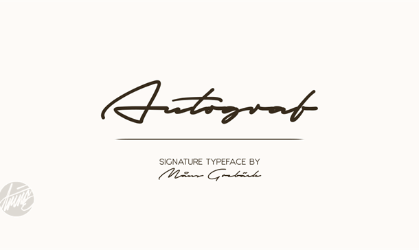 Autograf PERSONAL USE ONLY Font