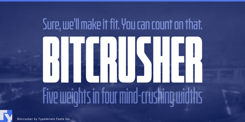 Bitcrusher font - All Free Fonts