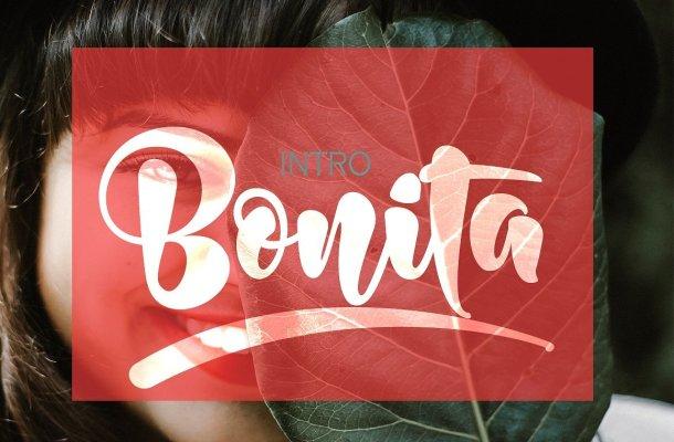 Bonita Bold Script Font