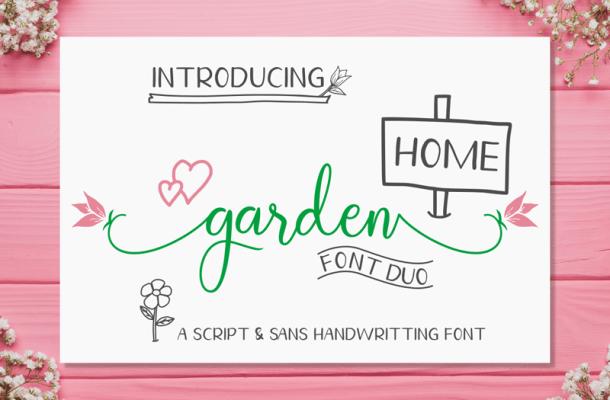 Homegarden font