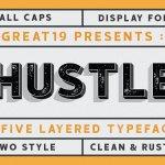 Hustle Display Font