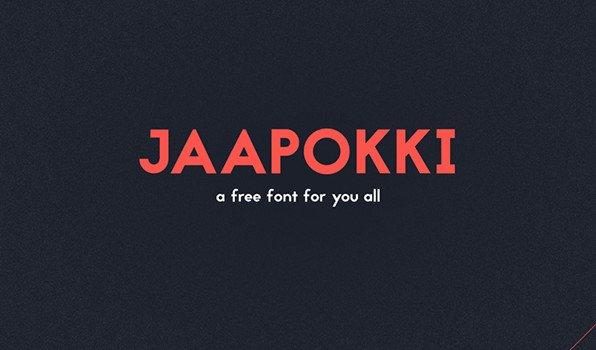 Jaapokki Typeface