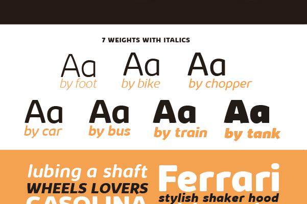 Kabrio font