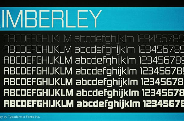Kimberley font
