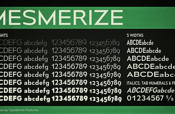 Mesmerize font
