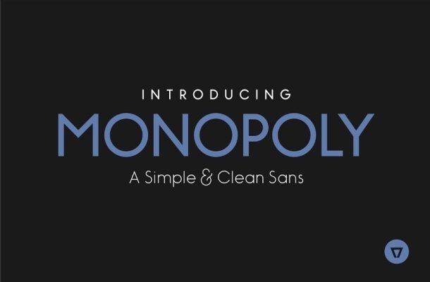 Monopoly Sans Font