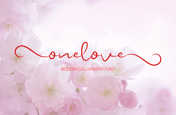 Onelove font