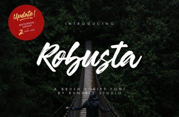 Robusta Script & Sans Font