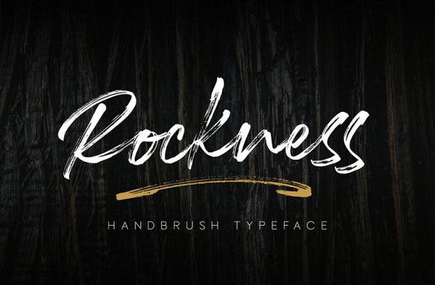 Rockness font