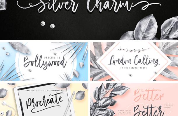 Silver Charm font