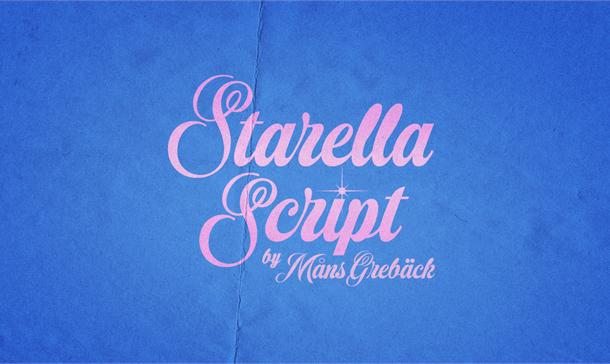 Starella Script PERSONAL USE Font