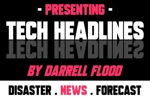 Tech Headlines font
