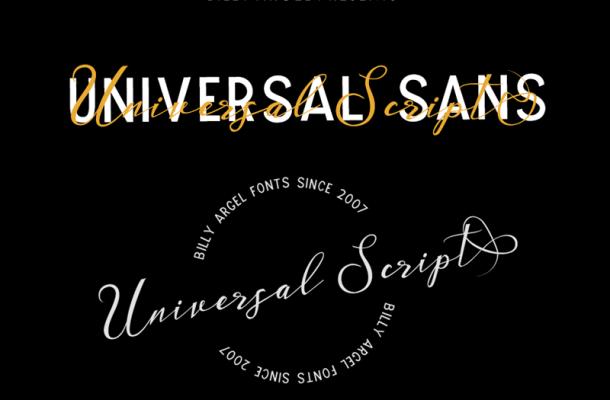 Universal Sans font