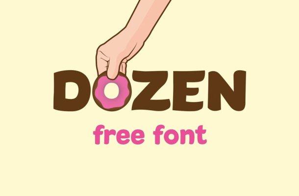 Dozen Font
