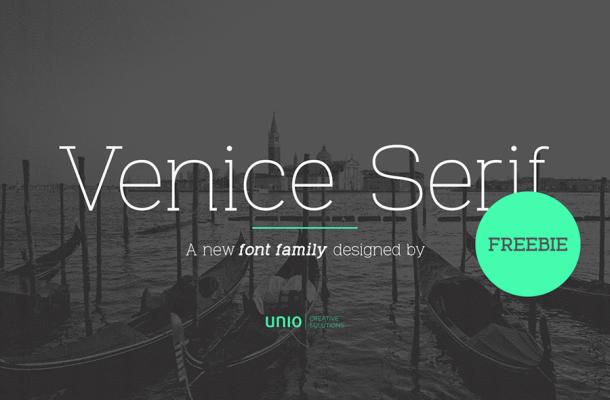 Venice Serif Font