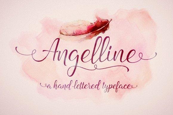 Angelline Script