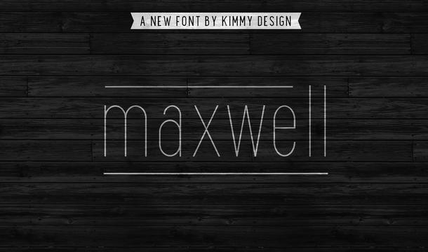 Maxwell Sans