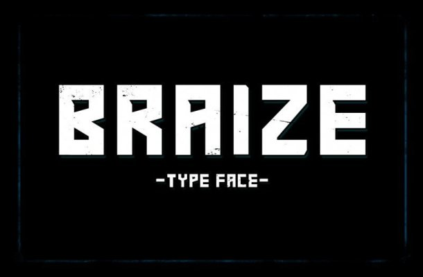 Braize Typeface