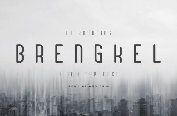 Brengkel Typeface