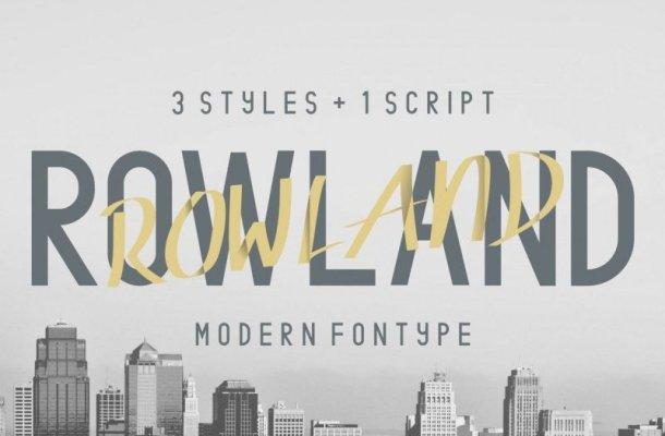 Rowland Typeface