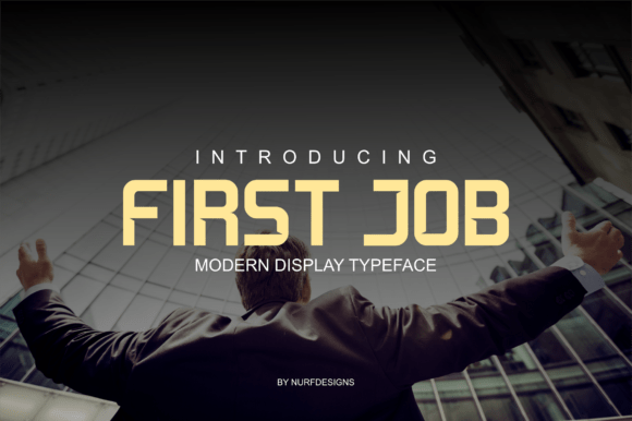 First Job Typeface