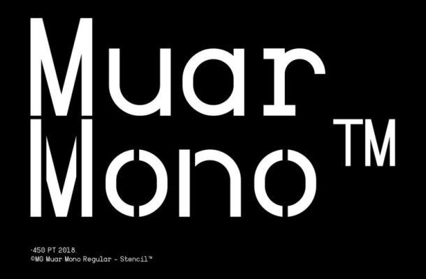Muar Mono™ Typeface