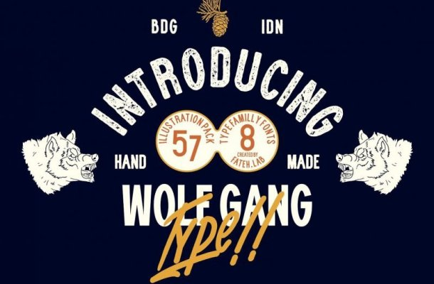 Wolf Gang Font Family