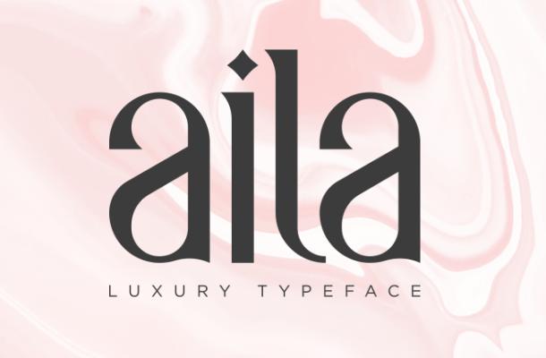 Aila Typeface