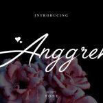Anggrek Script Font