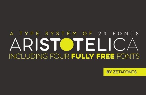 Aristotelica Font Family