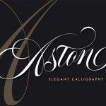 Aston Calligraphy Font