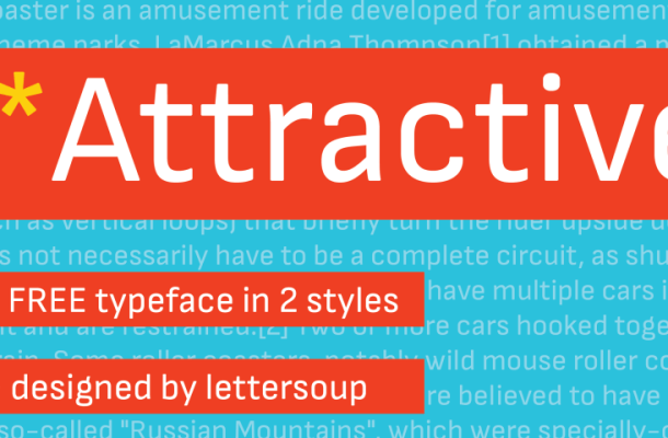 Attractive Font Family