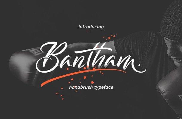 Bantham Handbrush Font