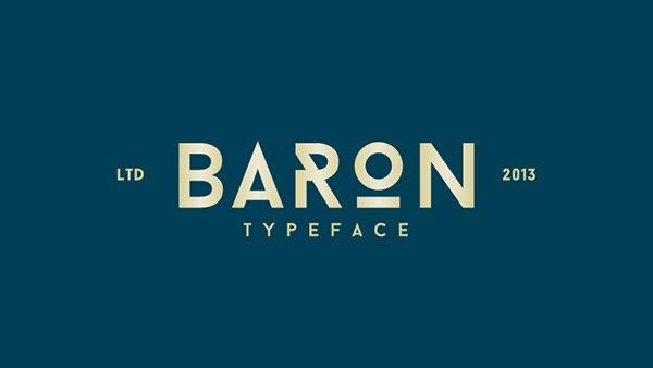 Baron Neue Typefamily