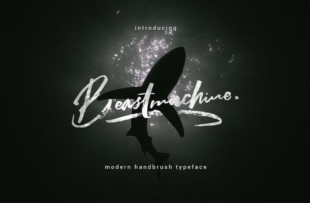 Beastmachine Brush Font