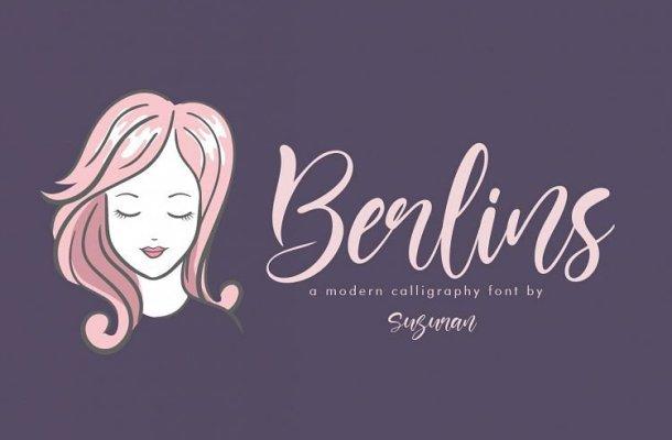 Berlins Script Font