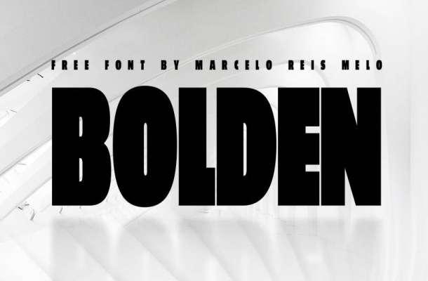 Bolden Typeface