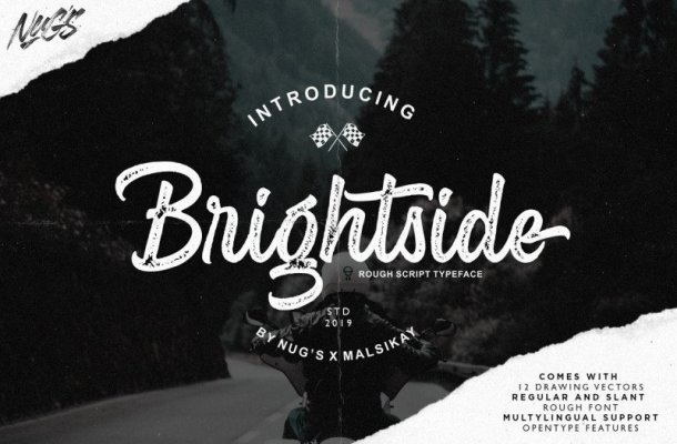 Brightside Script Font