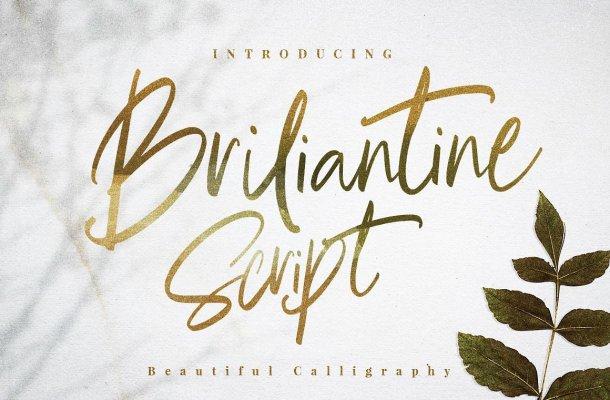 Briliantine Script Font