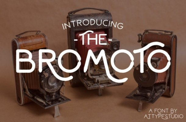 Bromoto Typeface