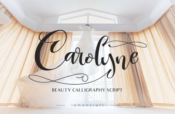 Carolyne Script Font