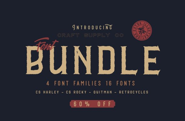 CS Font Bundle – Free Demo