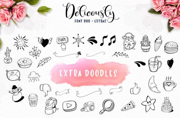 Deliciously Brush Font