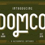 DOMCO Font Family