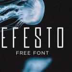 Efesto Typeface