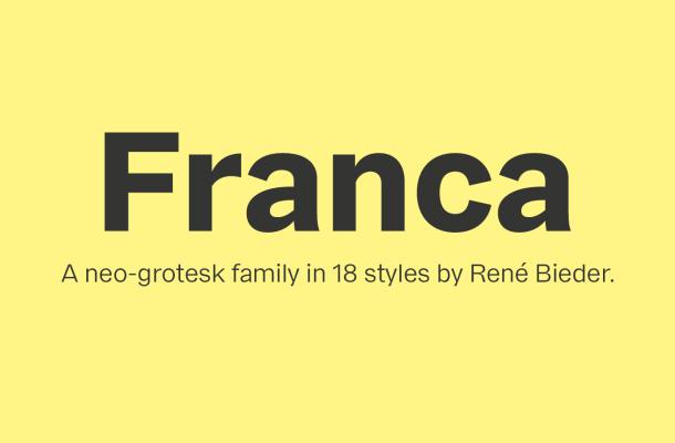 Franca Font Family