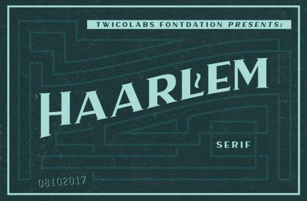 Haarlem Serif Font