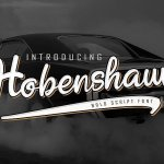 Hobenshaw Script Font