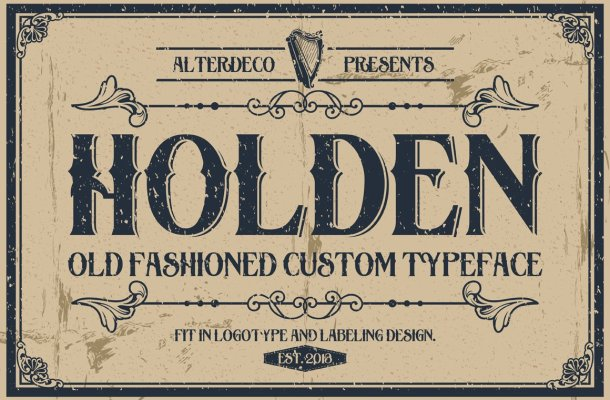 Holden Typeface