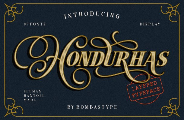 Hondurhas Typeface